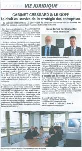 Article vie juridique - Mars 2016